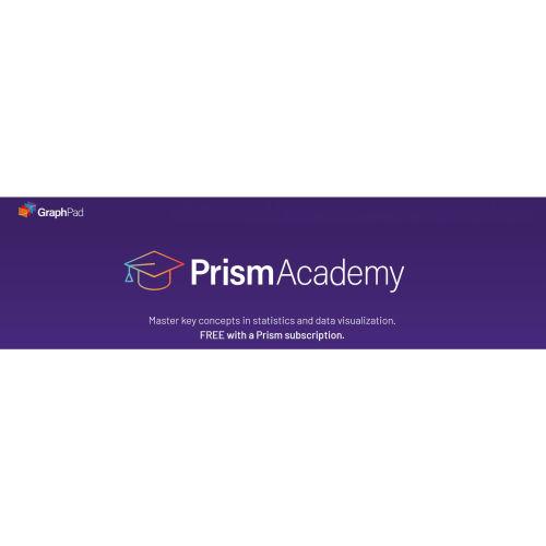立即體驗GraphPad Prism推出的Prism Academy