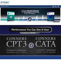 台灣區獨家總代理 MHS Conners CPT 3 克氏注意力持續度表現測驗第三版 (8歲以上)