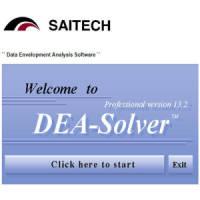 DEA-Solver Pro 13 資料包絡分析軟體