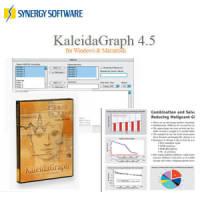 KaleidaGraph 4.5 科學繪圖軟體