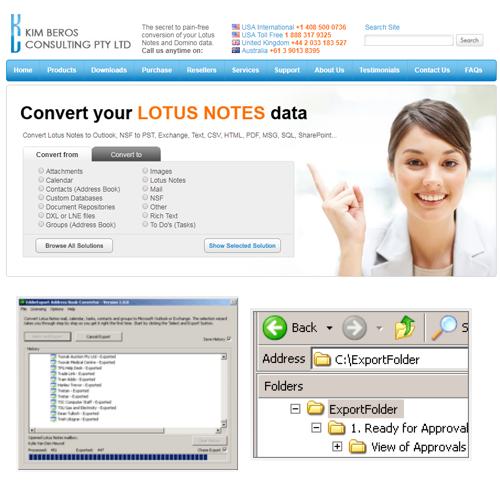 XitNotes Lotus Notes郵件轉換工具