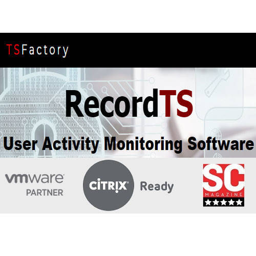 RecordTS - Enterprise Starter Pack w/2 TS Agents 遠端桌面監控