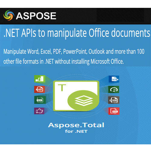 Aspose.Total for .NET 程式開發工具