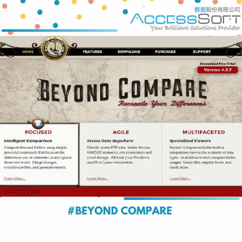 Beyond Compare Pro/Std 資料夾及檔案內容比對工具