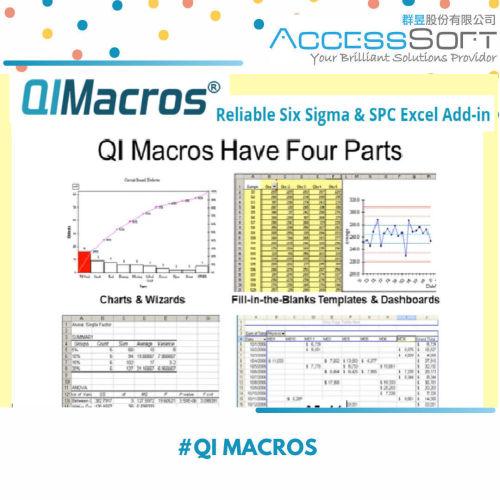 QI Macros 統計流程控制軟體