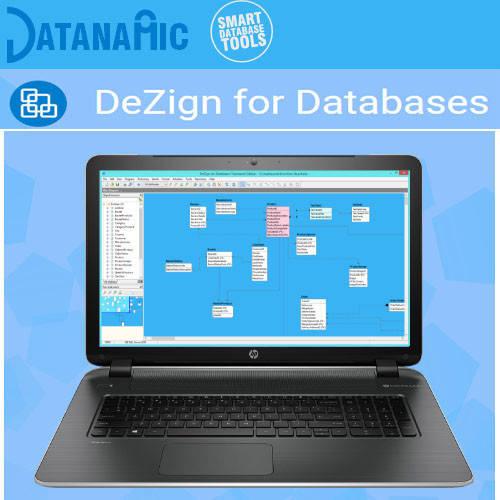 DeZign for Databases 資料庫開發工具