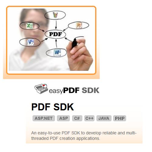BCL easyPDF SDK 8.0 PDF轉檔軟體