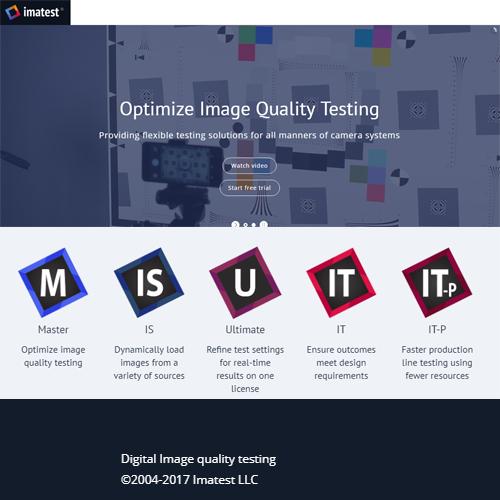 Imatest Master License 5.0 圖像質量測試軟體(影像測試軟體)