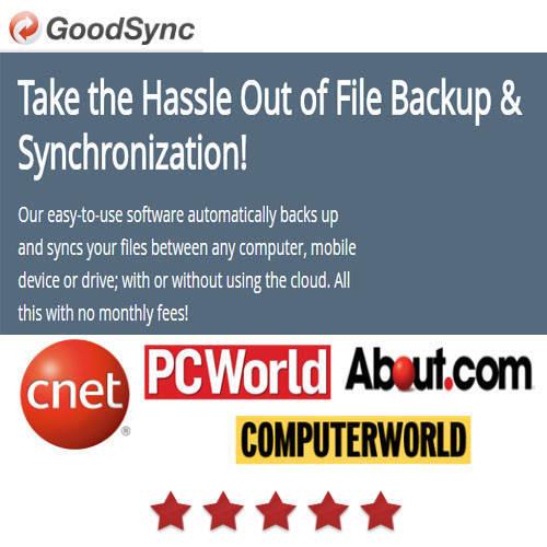 GoodSync for Server OS  檔案同步備份軟體