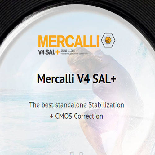 proDAD Mercalli V4 PRO 影片防手震濾鏡軟體