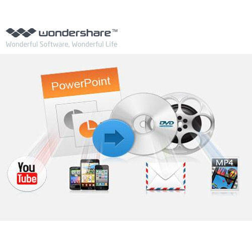 Wondershare PPT2DVD PPT到DVD轉換器