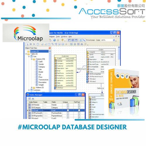MicroOLAP Database Designer for MySQL 資料庫設計視覺化工具