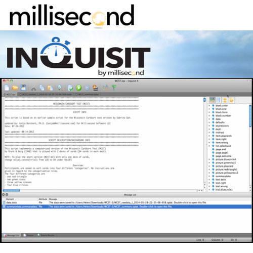 Inquisit 心理學實驗統計軟體
