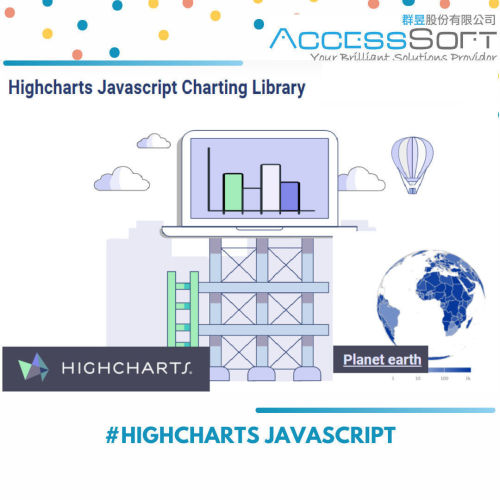 HighCharts JavaScript 9.1 資料視覺化控件