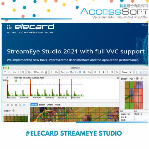Elecard StreamEye Studio 2021 視頻編碼分析軟體
