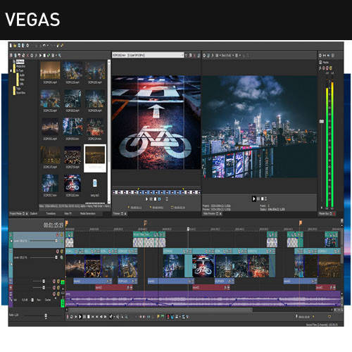 Sony Vegas Pro 非線性編輯軟體