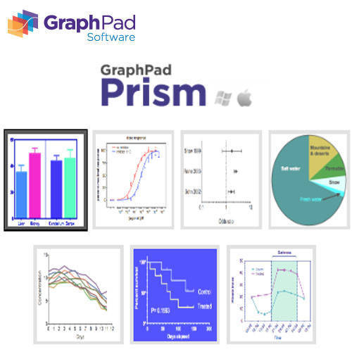 GraphPad Prism 9 生物統計軟體