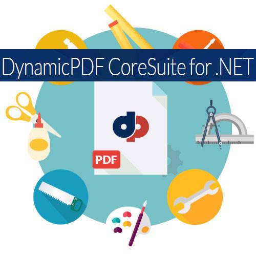 DynamicPDF Core Suite for .NET PDF檔案創建軟體