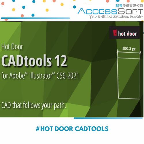 Hot door CADTools 12 for Adobe Illustrator CS6-CC 2021 外掛工具
