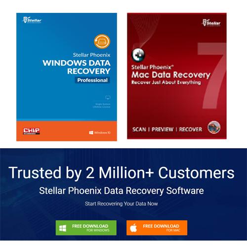 Stellar Phoenix Windows Data Recovery Pro 還原已刪除文件/複制磁碟的工具軟體