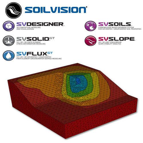 SVOFFICE 5 岩土工程分析軟體