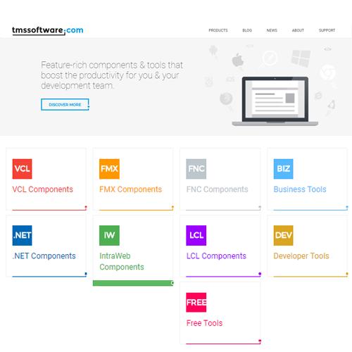 TMS Software 元件開發軟體