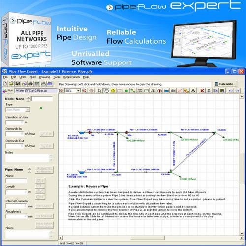 Pipe Flow Expert 管路設計分析軟體
