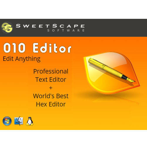 010 Editor Version 8 十六進制編輯器