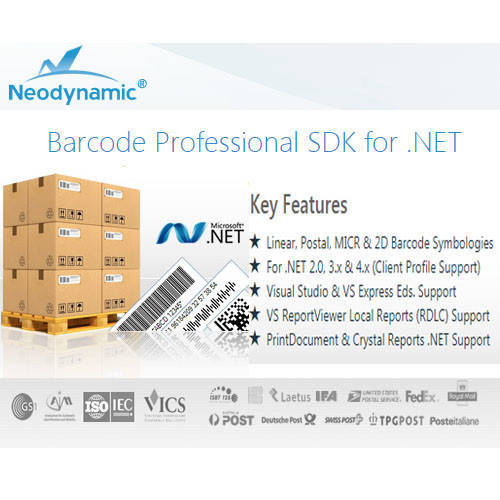 Barcode Professional SDK for .NET 條碼製作軟體
