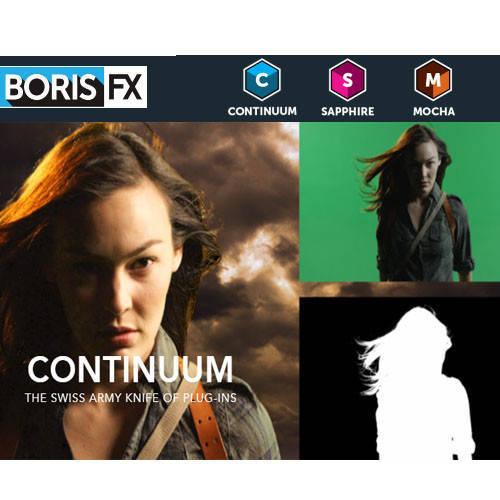 Boris FX Continuum 動畫與影像特效製作軟體