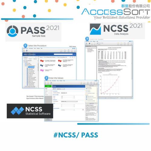 NCSS /PASS 統計分析軟體