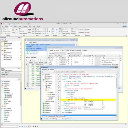 PL/SQL Developer 資料庫管理工具