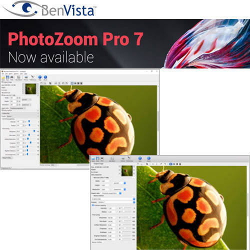 PhotoZoom Pro 8 圖片放大不失真軟體