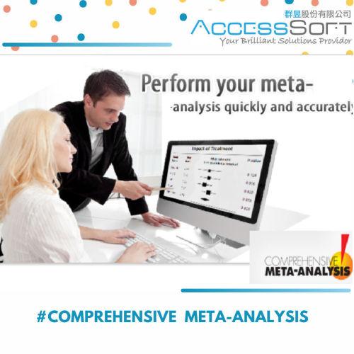Comprehensive Meta-Analysis 3 Pro (CMA) 統計分析軟體(年租版)