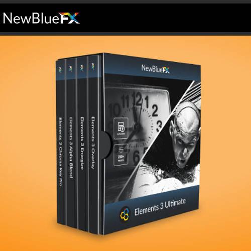 NewBlueFX Elements 數位影音編輯軟體