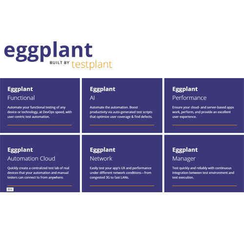 TestPlant eggPlant Functional 自動化測試軟體