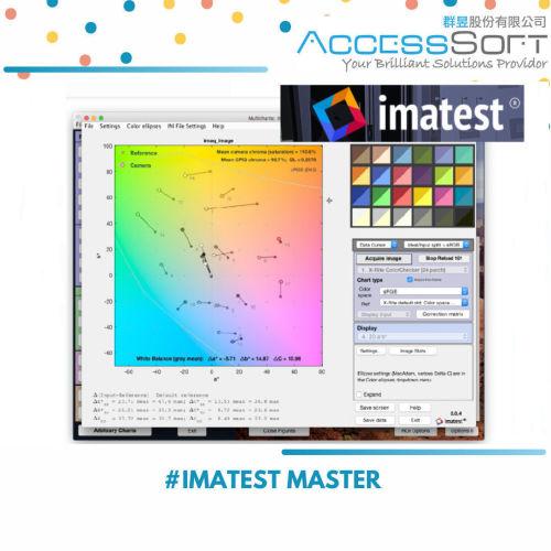 Imatest Master License 2021.1 圖像質量測試軟體(影像測試軟體)