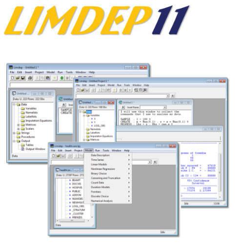 LIMDEP 11 計量經濟學軟體